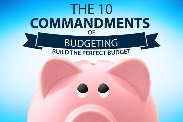 10 Commandments of Budgeting